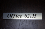 custom order.       18 x Office Door signs
